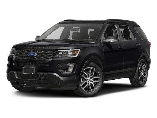 2016 Ford Explorer Sport In Red Bank Nj George Wall Lincoln